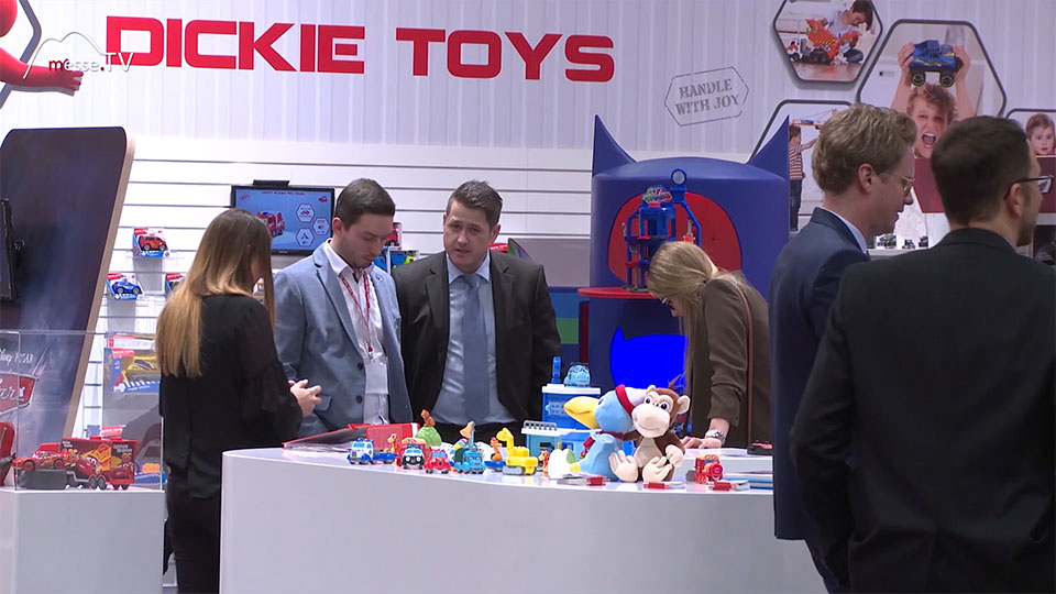 Helden der Stadt Spielzeug Spielwarenmesse