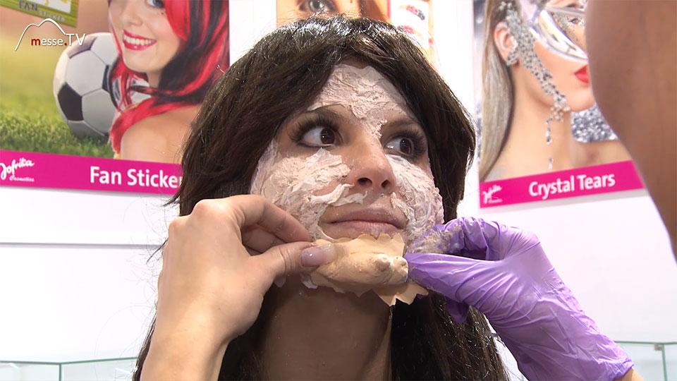 Jofrika Schminke Halloween Maske