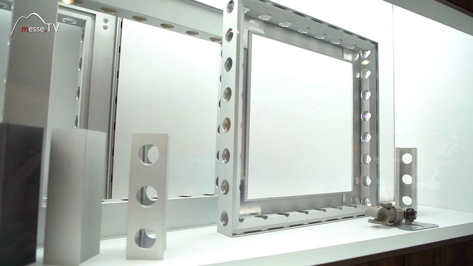 Matrix Systems Rahmensystem für Stoff Panele