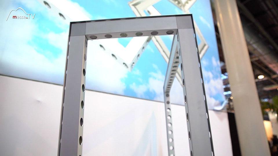 Messebau Rahmen Bauhöhe bis 6 Meter Matrix Systems