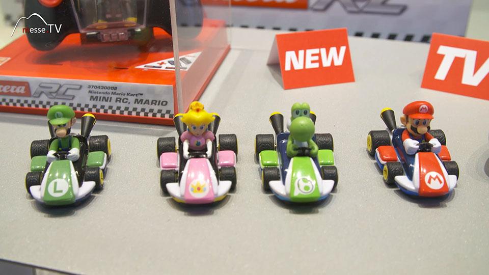 Mini-RC Autos Carrera Nintendo Collectibles