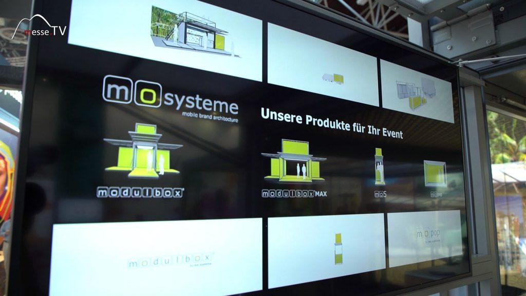 Mo Systeme Mobilbox für Messen und Events
