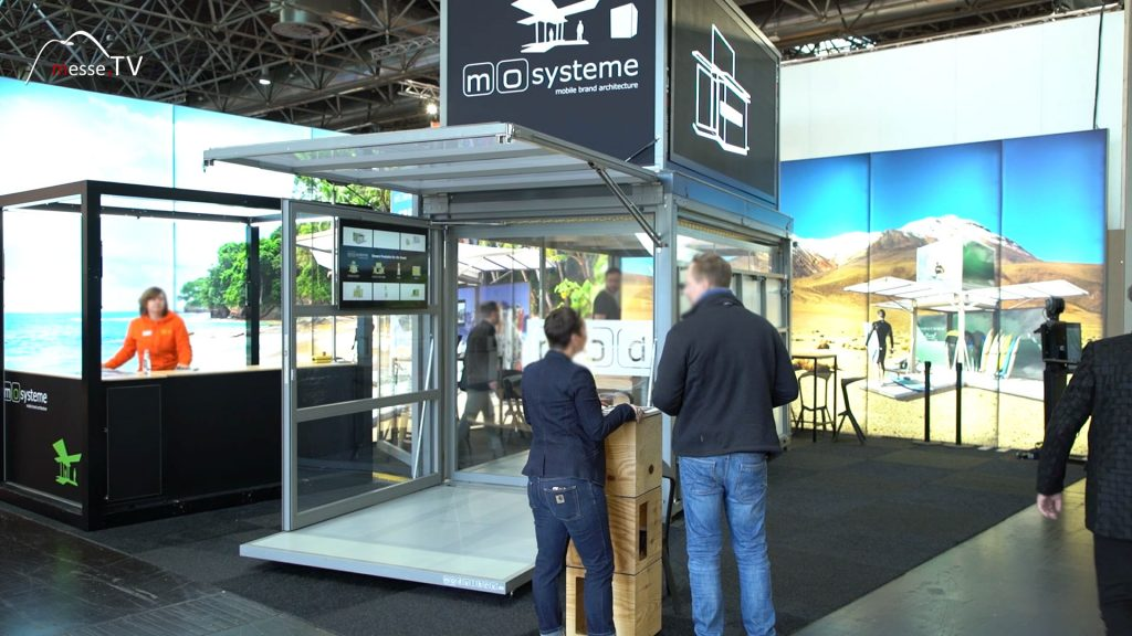 Modulbox mobiler Raum Euroshop Messe Düsseldorf
