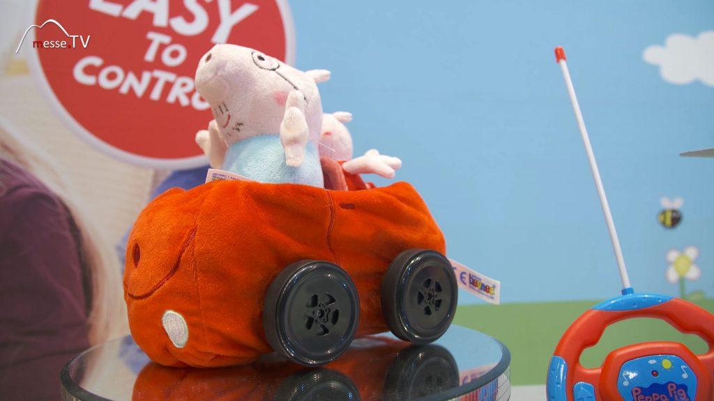 Peppa Pig ferngesteuertes Auto aus Plüsch