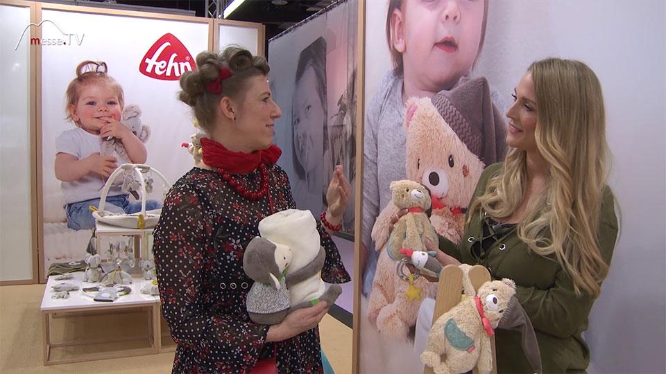 Plüschschaf Teddybaer Spielwarenmesse