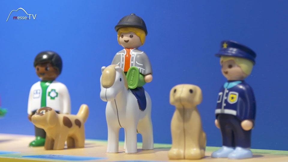 Playmobil 123 Lernstufe 1 Spielfiguren Menschen mit Beruf Tiere Hund Katze Pferd