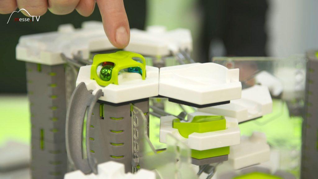 Ravensburger Gravitrax Pro interaktive Kugelbahn Spielwarenmesse 2020