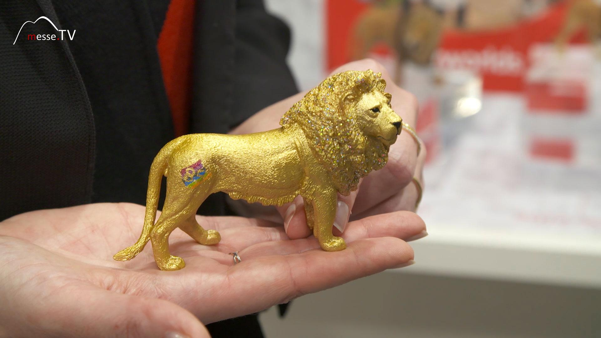 Schleich 85 Jahre goldener Löwe Spielwarenmesse 2020