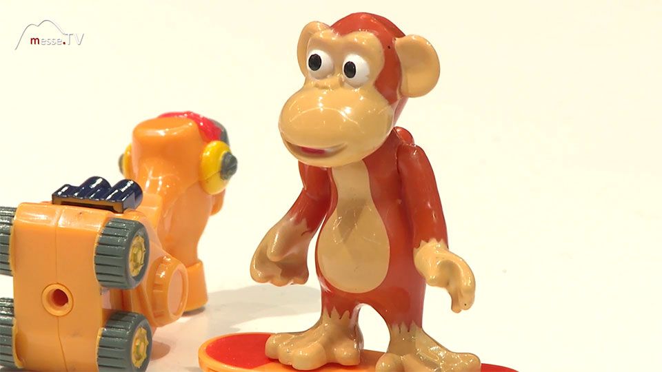 Spielfigur Affe