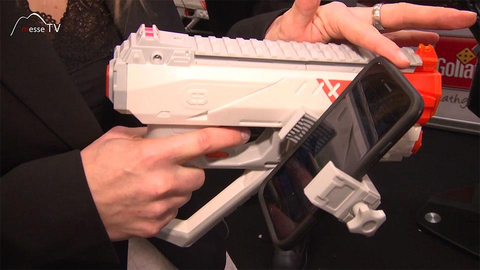Spielzeug App Jagd Waffe
