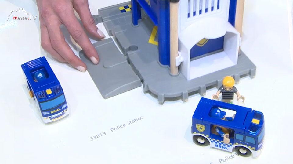 Spielzeug Polizei Station