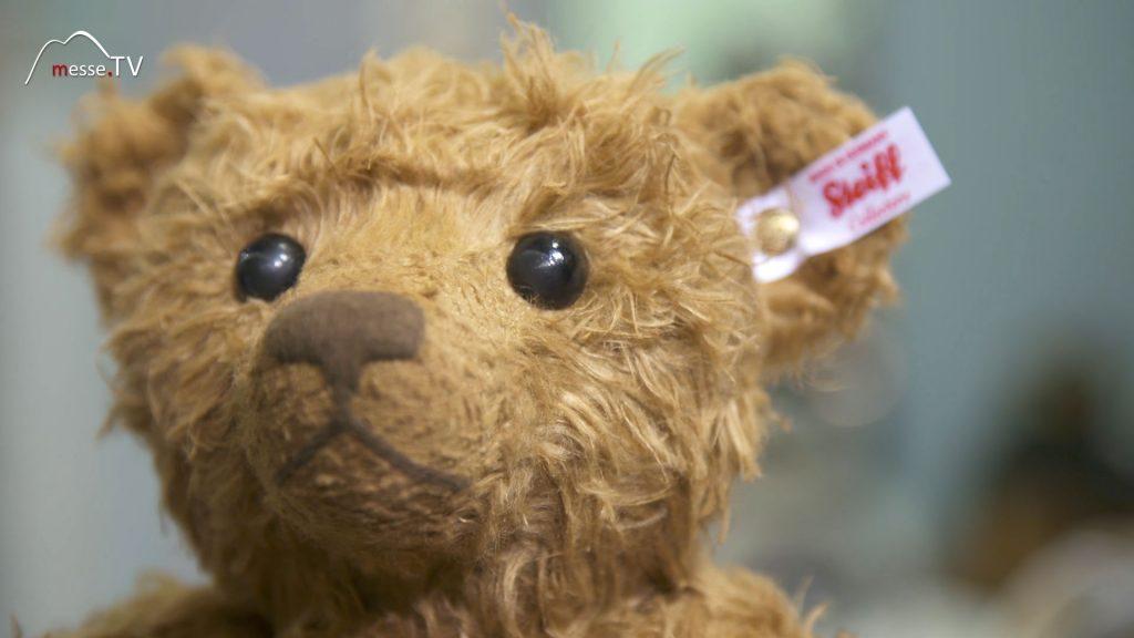 Steiff Hansel Hanf Teddybär Spielwarenmesse 2020