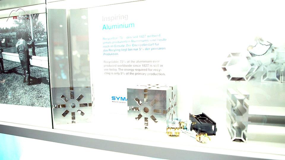 Syma modulares System für Messebau und Ladenbau