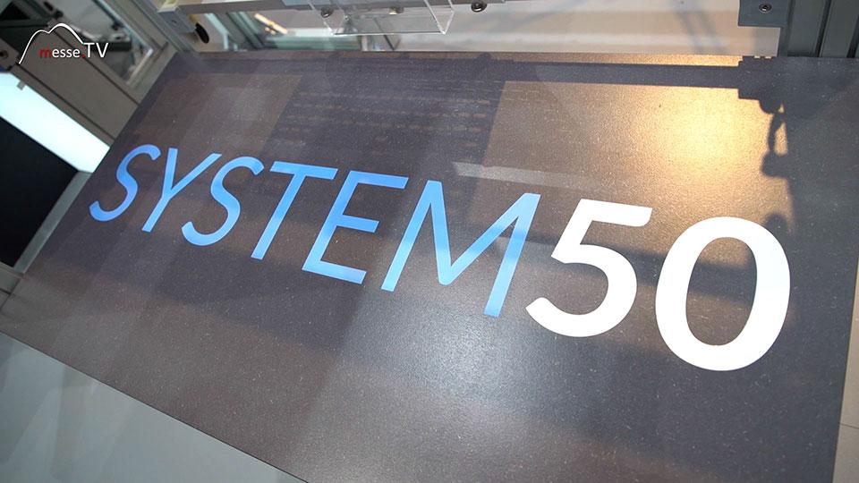 System 50 Cornect Exhibition Messebau
