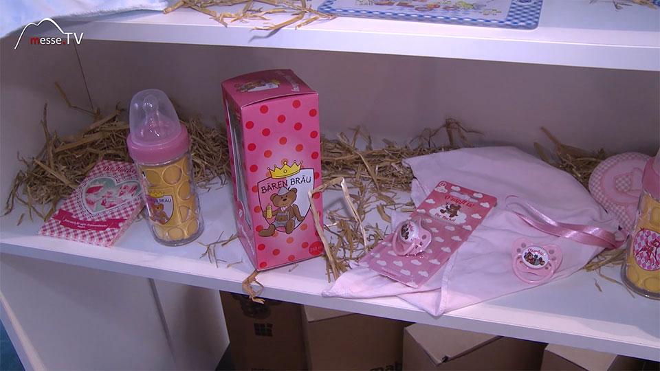 Wolke 3 Baerenbraeu Maedchen Nuckelflasche Baby - Spielwarenmesse