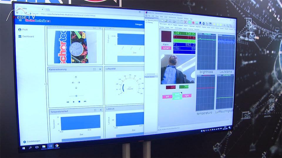 fischertechnik Kamera Video Neuigkeit digital analog