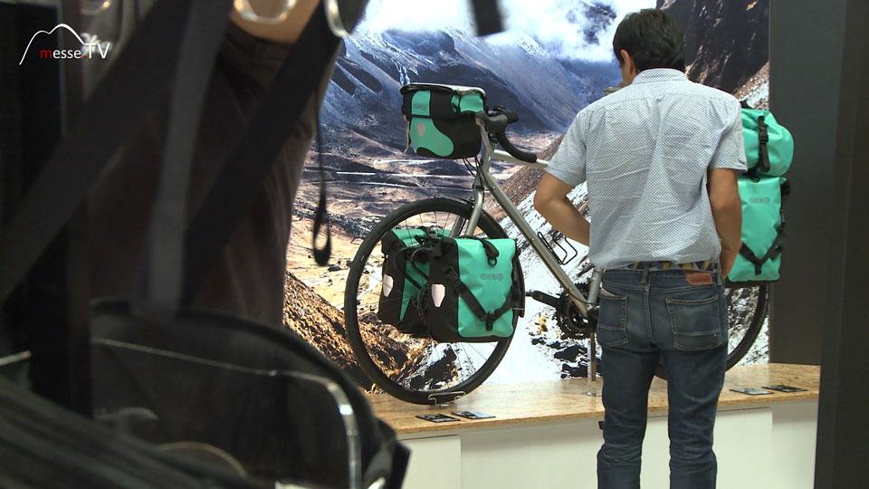 Fahrrad Radtour Radtasche