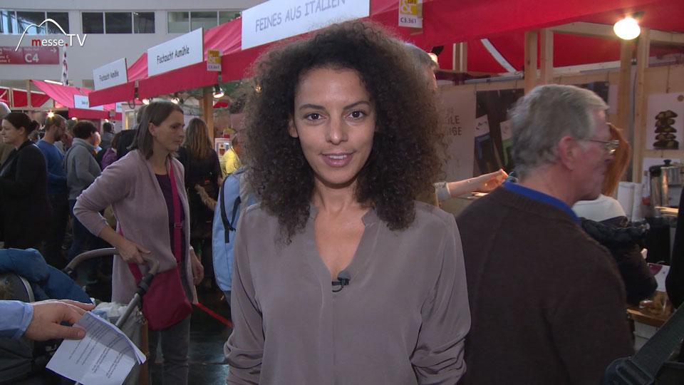 Moderatorin Messe München