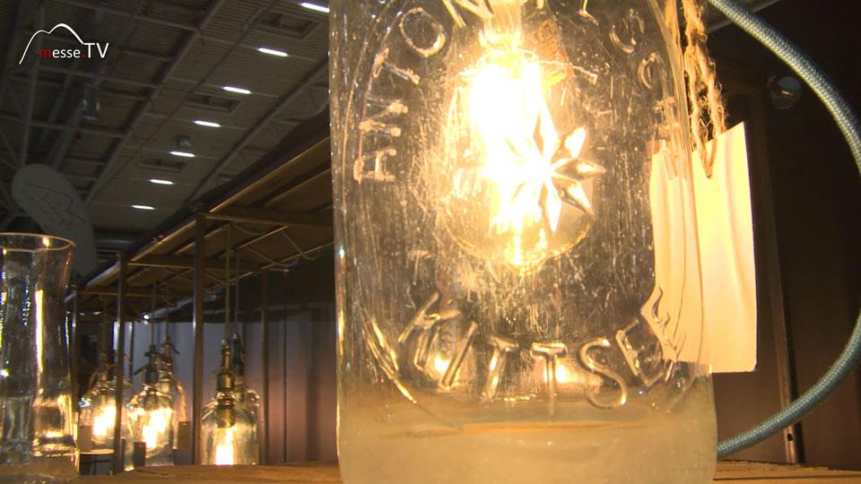 retro Designer Lampe