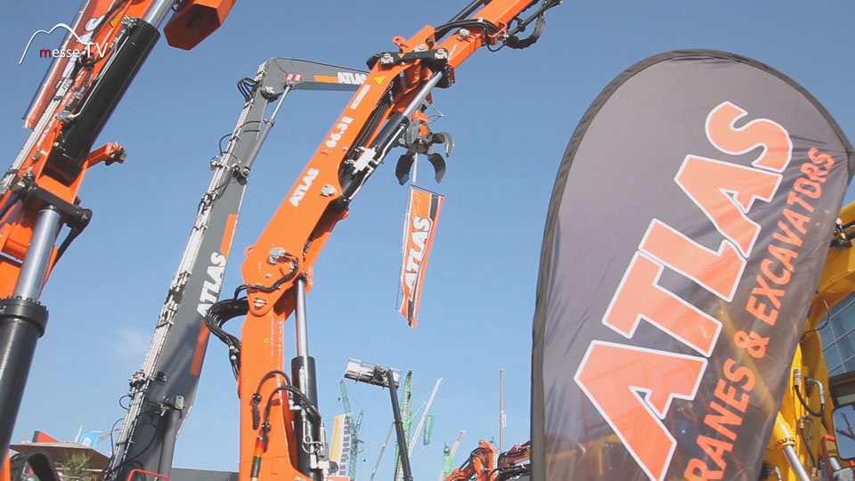 Atlas Messestand bauma