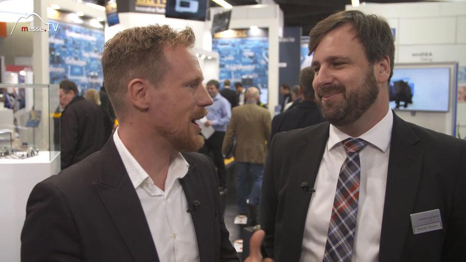 Benedikt Weyerer im Gespräch mit Messe TV