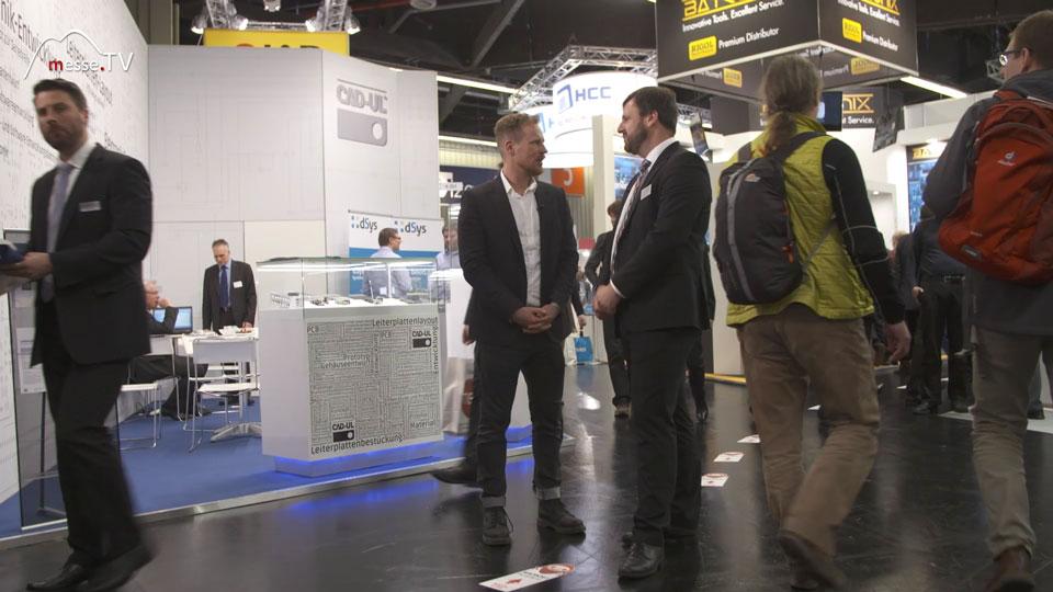 Interview Benedikt Weyerer im Messe TV