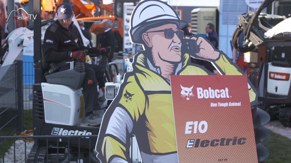 Elektrobagger E10 Bobcat