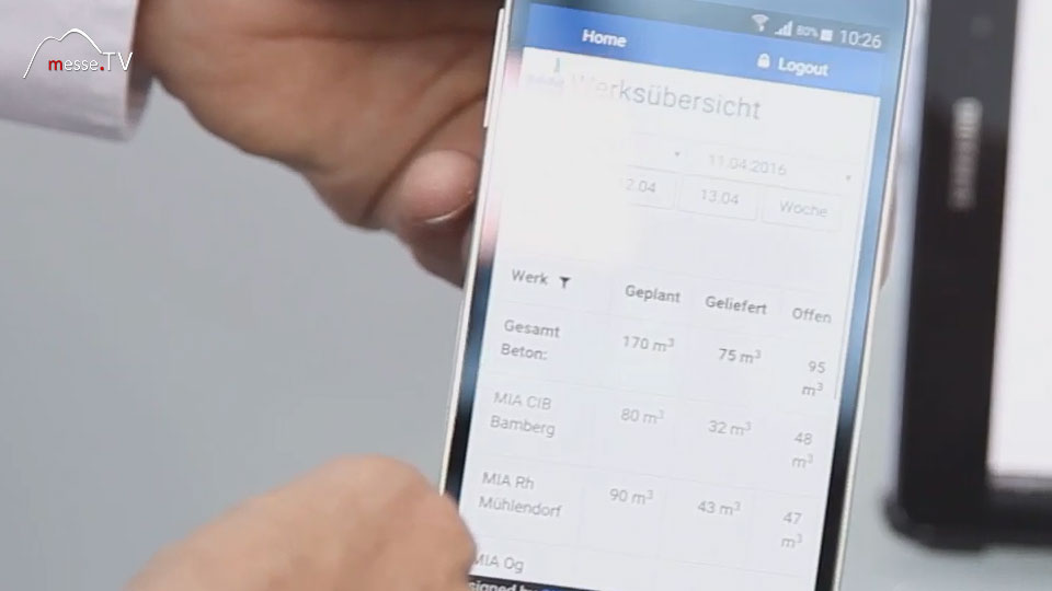 CIB Mobil responsive design