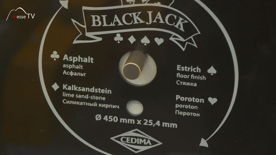Diamant Trennscheibe BlackJack