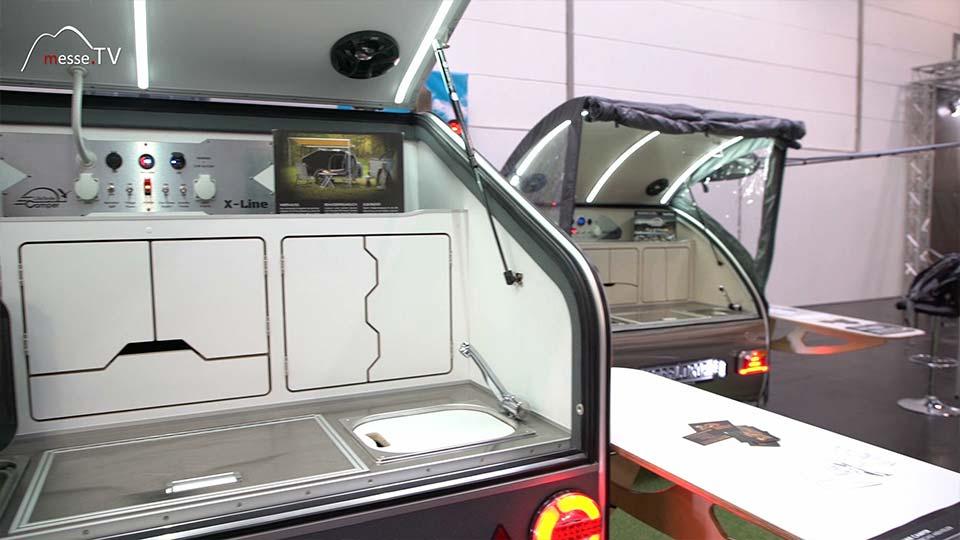 Camping Adventure Lifestyle Camper kompakter Wohnwagen