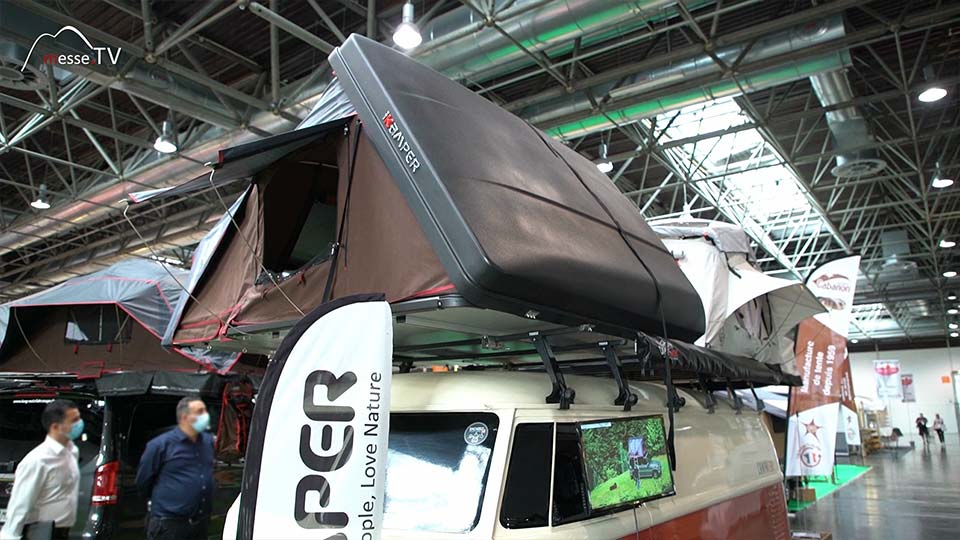 Campwerk iKamper Dachzelt Schlafplatz Autodach