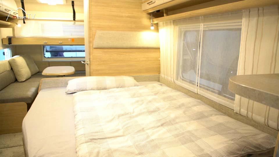 Fendt Caravan Wohnwagen Bett Schlafbereich