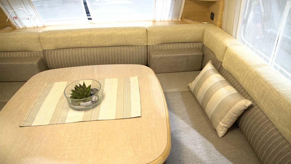 Fendt Caravan Wohnwagen Bianco Sitzbereich