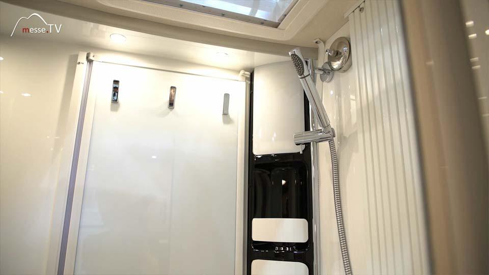 Hobby Caravan Reisemobil Badezimmer Dusche