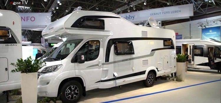 Hobby Caravan Reisemobil Ontour Alkoven